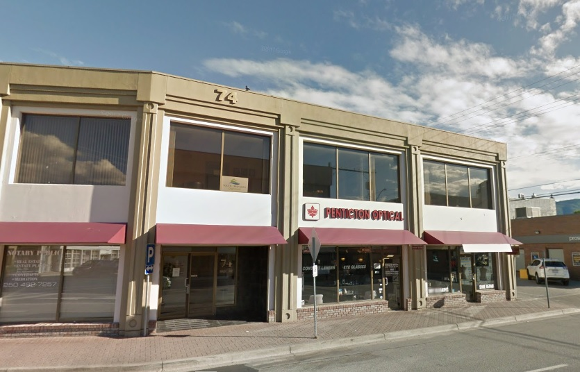 WWCB Penticton Office Location