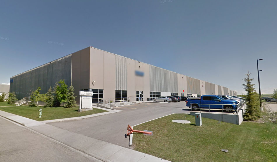 WWCB Calgary office & warehouse location